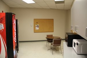 New South Center breakroom