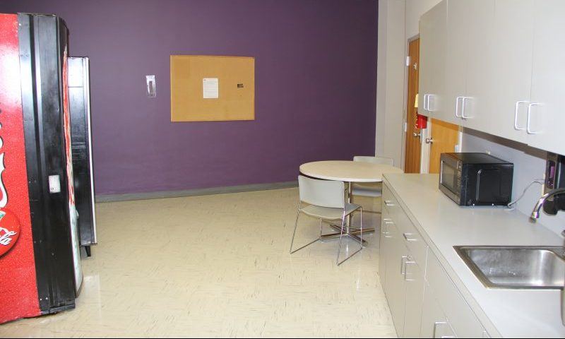 Breakroom in New South Center