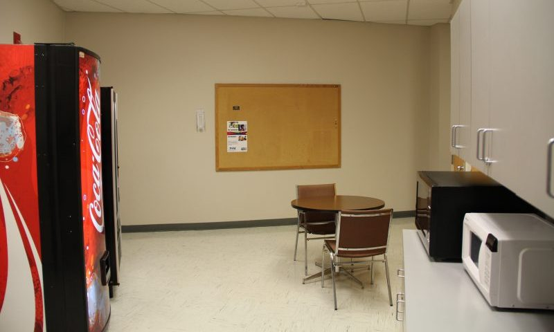 New South Center breakroom